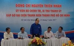 Bí thư Thành ủy TP HCM Nguyễn Thiện Nhân gặp gỡ thanh niên tiêu biểu