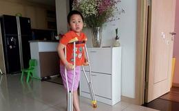 Câu chuyện ứa nước mắt về cậu bé bị gãy chân ở trường Nam Trung Yên