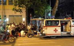 Hà Nội: Nghi vấn xe cứu thương húc văng cô gái trẻ 30m rồi bỏ chạy