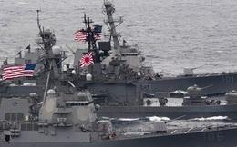Quân đội Nhật Bản bắt đầu tập trận lớn với các tàu sân bay Mỹ