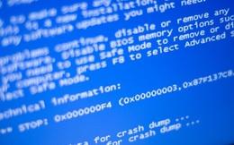 """Bất ngờ: """"màn hình xanh chết chóc"""" là nguyên nhân cứu Windows XP khỏi tay Wannacry"""