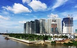 """""""Soi"""" tiến độ loạt dự án khu Đông Sài Gòn: Nơi nhộn nhịp, chỗ hoang vu cỏ mọc"""