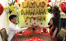 Màn cầu hôn lãng mạn như phim Hàn của tuyển thủ U23 Việt Nam