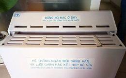 TPHCM lắp miệng hố ga ngăn mùi hôi, giảm ngập