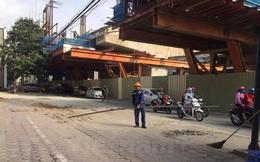 Chủ đầu tư nói gì về ống tuýp thép rơi từ dự án đường sắt đô thị