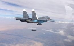 Chiến đấu cơ Không quân Nga giáng đòn hủy diệt đoàn xe IS tại Palmyra