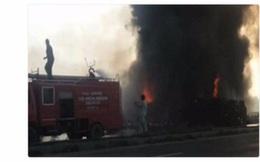Lật xe chở dầu ở Pakistan, hơn 120 người chết