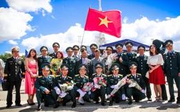 Lễ tốt nghiệp của sỹ quan Không quân Việt Nam tại Voronezh, Nga