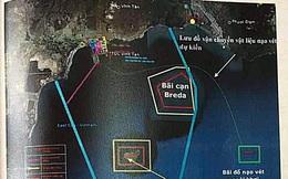 Cấp phép đổ 1 triệu m3 bùn thải xuống biển Vĩnh Tân