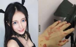 Hot girl Trung Quốc bị bóc mẽ nhan sắc thật, bạo lực ưa đánh người
