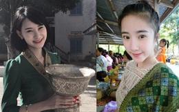 Nhan sắc ngọt ngào pha quyến rũ của 2 hot girl Lào đình đám mạng xã hội