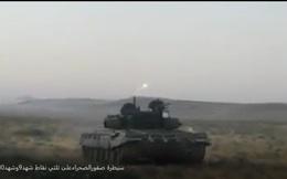 Chiến sự Syria: Tăng T-72B3 Nga nã tên lửa diệt IS tại Hama
