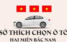 [Infographic] Sở thích chọn ô tô hai miền Nam Bắc có gì khác nhau?