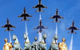Gần 4.000 binh sĩ rầm rộ diễu binh mừng kỷ niệm 228 năm Quốc khánh Pháp