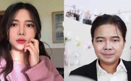 Hết hóa thân thành bà Phương, cô nàng du học sinh Việt lại trổ tài makeup giống hệt Tài Smile