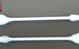 Tại sao một số loại bông tăm lại 2 đầu tròn, nhọn khác nhau?