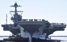 Mỹ muốn gửi thông điệp gì tới châu Á qua tàu sân bay 100.000 tấn?