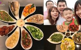 Cô dâu Việt lấy chồng Đài Loan, bữa cơm nấu toàn món Việt mà cả nhà chồng khen tấm tắc