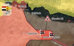 """""""Hổ"""" Syria nghiền nát IS chiếm 3 cứ địa, chỉ còn cách Deir Ezzor 70 km"""