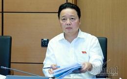 Vụ nhận chìm bùn thải ở Bình Thuận: Bộ trưởng Trần Hồng Hà muốn 'nói hết' về nhận chìm