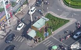Ngôi nhà không chịu giải tỏa, chình ình giữa giao lộ ở Sài Gòn