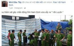 """Triệu tập đối tượng tung tin """"Thảm sát ở Nam Định"""""""