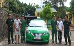 Thuê taxi hơn 200km lên vùng biên mua ma túy