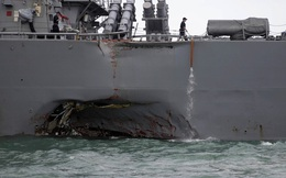 """Hạm đội 7 của Mỹ bị """"tấn công mạng""""?"""