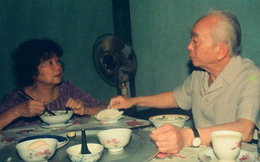 Bữa cơm với hai quả trứng của vợ chồng Tướng Giáp