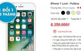 iPhone tiếp tục giảm sâu, trước ngày ra mắt iPhone 8