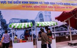 Người dân bắt đầu bán thử nghiệm tại phố hàng rong có sử dụng vỉa hè đầu tiên ở Sài Gòn