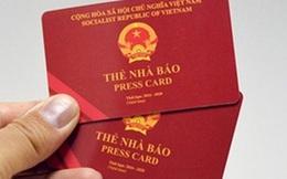 Cựu phóng viên VOV cưỡng đoạt tài sản bị thu Thẻ nhà báo