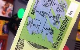 Sai con đi mua vé số, ông bố sung sướng khi trúng 113 tỷ đồng thế nhưng sau đó lại đau khổ vì bị từ chối trao thưởng