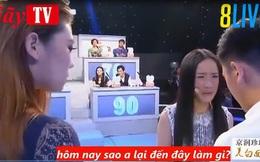 Đưa bạn gái và bồ cùng lên gameshow truyền hình, sự lựa chọn của chàng trai khiến nhiều người bất ngờ