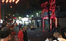 Hà Nội: Hỗn chiến kinh hoàng trước quán bar phố Mã Mây