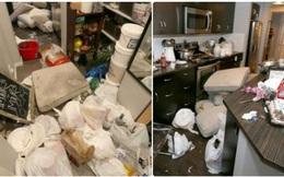 Cho thuê nhà ngắn hạn khi đi du lịch, cặp đôi trẻ phải ân hận cả đời vì tổ ấm bị biến thành bãi rác