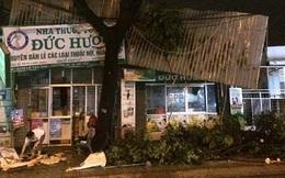 Mưa lớn kèm gió giật, hàng loạt cây xanh bị quật ngã đè sập nhà dân ở TP.HCM
