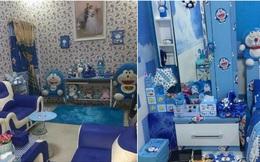 Đây là căn nhà khi hai vợ chồng đều là fan cuồng của mèo ú Doraemon cùng về sống chung!