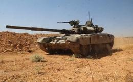 Tăng T-90 Syria gầm thét xung trận trên chiến tuyến tây Aleppo