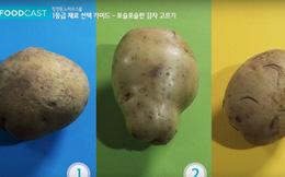 Đi chợ phải biết 5 cách chọn khoai tây vừa ngon vừa an toàn cho sức khỏe