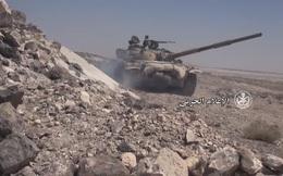 Video thu từ xác chết: Phút đền tội của tên khủng bố - phát đạn bắn tan xác xe bọc thép IS