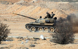 Trực thăng Nga truy sát phiến quân Syria trên chiến trường Hama
