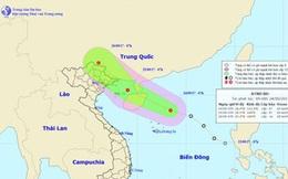 Áp thấp nhiệt đới tăng cấp, hướng Quảng Ninh - Hải Phòng