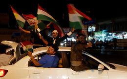 """Người Kurd ở Iraq """"lên mây"""" trước cơ hội ly khai khỏi Iraq"""