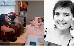 Khoảnh khắc mẹ gẩy đàn hát vĩnh biệt con hấp hối vì ung thư khiến triệu người khóc nghẹn