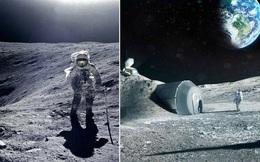 ESA: Hàng trăm người có thể sống trên Làng Mặt trăng trước năm 2040