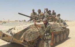 IS dồn quân thiện chiến, xe tăng quyết ăn thua với quân đội Syria