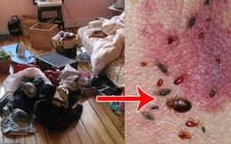 Vứt quần áo bẩn lên giường và cái kết khiến bạn không bao giờ dám làm vậy nữa