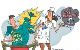 Shock phản vệ: sự cố không mong muốn trong y khoa