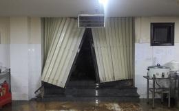 Đất đá sạt lở đổ ập xuống khách sạn ở Vũng Tàu